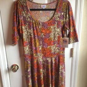 NWT Large 14-16 LuLaRoe Nicole Dress